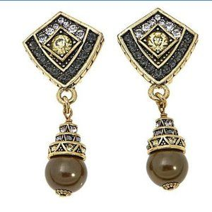 HEIDI DAUS Divinely Deco CRYSTAL DROP Earrings